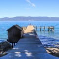 Sugar Pine Point State Park is set along Lake Tahoe's west shore.- Sugar Pine Point State Park