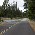 After you pass the sno-park, take a left on Forest Service Road 4420.- Flag Point Fire Lookout