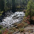 Hell Roaring Creek below the lake.- Imogene Lake + Divide
