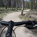 The trail is open to mountain bikes, which makes the relatively flat approach go much quicker.- Stanley Lake Creek to Hansen Lakes