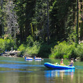 Rafters enjoying the float down the Truckee River.- Truckee River Float