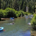 Truckee River Float.- Truckee River Float