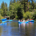 Put-in near the Higway 89 Truckee River Bridge.- Truckee River Float