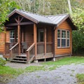 Cabin.- Wallace Falls Campground