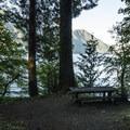 La Poel Day Use Area.- Lake Crescent, La Poel Day Use Area
