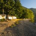 Cabins at Lake Crescent Lodge.- Lake Crescent Lodge