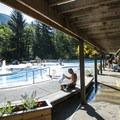 Sol Duc Hot Springs.- Sol Duc Hot Springs