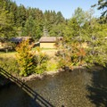 Sol Duc River at Sol Duc Hot Springs Resort.- Sol Duc Hot Springs Resort