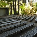 Sol Duc Campground amphitheater.- Sol Duc Campground