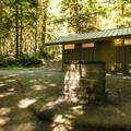 Restroom facilities at Fairholme Campground.- Lake Crescent, Fairholme Campground