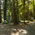 Fairholme Campground.- Lake Crescent, Fairholme Campground
