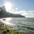 Murdock Beach on the Strait of Juan de Fuca.- Murdock Beach