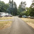 RV campsites at Salt Creek Recreation Area.- Salt Creek Recreation Area