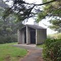Restroom facilities at Neptune State Scenic Viewpoint. - Neptune State Scenic Viewpoint
