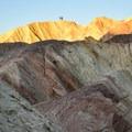 Sun rising on the Golden Canyon.- Golden Canyon