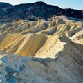 Golden Canyon in Death Valley National Park.- Golden Canyon