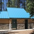 Campground restrooms.- Donner Memorial State Park Campground
