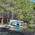 Small boat rentals and SUPs are available during the summer months at Donner Memorial State Park.- Donner Memorial State Park