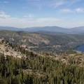 Views of Donner Peak and Donner Lake from Mount Judah.- Mount Judah Loop