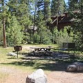 A handful of the campsites abut private property.- Tahoe State Recreation Area Campground