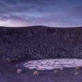 Early morning at Ubehebe Crater in Death Valley National Park.- Ubehebe Crater