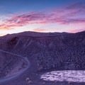 A beautiful morning at Ubehebe Crater.- Ubehebe Crater