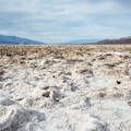 Salt formations on Badwater Basin.- Badwater Basin