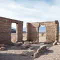 Ashford Mill Ruins at Death Valley National Park.- Ashford Mill