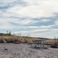 Camping at Mesquite Spring in Death Valley National Park.- Mesquite Spring Campground