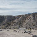 Mesquite Spring Campground remains less congested than Furnace Creek Campground.- Mesquite Spring Campground