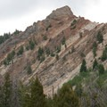 Aside from sedimentary rocks, the Boulder Mountains are also composed of intrusive and extrusive volcanic rocks.- North Fork of the Big Wood - East Fork of the North Fork