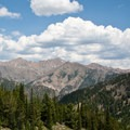 Spectacular views above Amber Lakes.- North Fork of the Big Wood - Amber Lakes