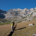 Cruising through expansive open meadows above 10,000 feet in the alpine zones.- Fall Creek - Left Fork Canyon