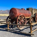 A 20 mule team carriage.- Harmony Borax Works