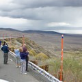 Photograhers stop at the famous Mono Lake Overlook on Highway 395.- Mono Basin National Scenic Area