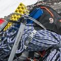 Preparing to rope up for Colman Glacier.- Mount Baker via Coleman Glacier