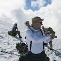 Break on Coleman Glacier.- Mount Baker via Coleman Glacier
