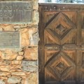 The orignal Empire Mine gate.- Empire Mine State Historic Park