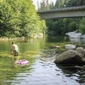 Oregon Creek Swimming Hole.- Oregon Creek Day Use Area