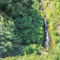 A riverside waterfall adds to the scenery.- Herrington's Sierra Pines Resort