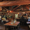 The dining room.- Packer Lake Lodge