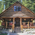 The lodge's dining room and bar are open to the public Wednesday through Sunday.- Packer Lake Lodge