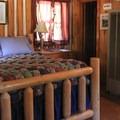 Cabin interior.- Sardine Lake Resort