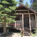 One of the many cabins avaialble for rent at Sardine Lake Resort.- Sardine Lake Resort