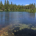 Sand Pond.- Sardine Lake Campground