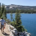 Tenaya Lake Trail.- Tenaya Lake Trail