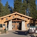 The Glacier Point Hut is open in summer for food and refreshments. It's also open in winter as a ski-in hut accommodation that is accessible from the Badger Pass Ski Area.- Glacier Point