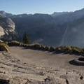 Not a bad spot for an amphitheatre. - Glacier Point