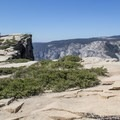 Quite a bit of exposure here. Unlike Glacier Point, the Taft Point area is almost fully devoid of guardrails.- Taft Point