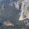 Yosemite Valley and El Capitan as seen from near The Fissures.- Taft Point